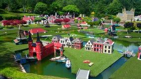 Legoland温莎-荷兰 免版税库存照片