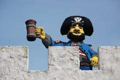 Legoland游乐园在Billund,丹麦 免版税库存图片