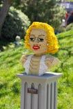 Legoland玛丽莲・梦露 免版税图库摄影
