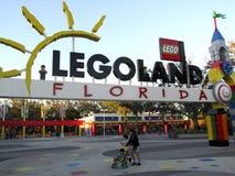 Legoland,佛罗里达 库存图片