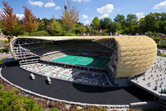 Legoland. Allianz Arena in Munich Stock Photography