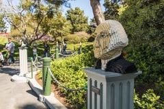 Legoland California - Carlsbad, San Diego County, California. George Washington Lego Model - Legoland California - Legoland California is a theme park, miniature Stock Image