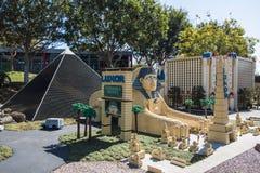 Legoland California - Carlsbad, San Diego County, California. Las Vegas Lego Model - Legoland California - Legoland California is a theme park, miniature park Stock Photo