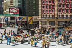 Legoland California - Carlsbad, San Diego County, California. New York Lego Model - Legoland California - Legoland California is a theme park, miniature park Royalty Free Stock Photo