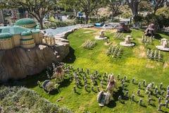 Legoland California - Carlsbad, San Diego County, California. Star Wars Lego Model - Legoland California - Legoland California is a theme park, miniature park Stock Photos