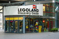 Legoland Discovery Centre. BERLIN, GERMANY - JUNE 06, 2014: Legoland Discovery Centre in the Sony Center on Potsdamer Platz royalty free stock images