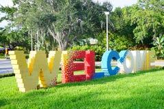 Legoland Florida stockbilder
