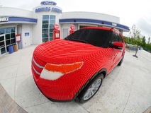 Legoland Florida Driving School Stock Photo