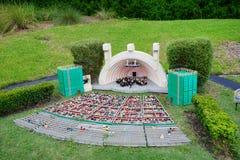 Legoland Florida Miniland USA arkivfoto