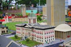 Legoland Florida Miniland USA. Capitol royalty free stock photography
