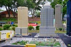 Legoland Florida Miniland USA. City stock images
