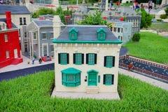Legoland Florida Miniland USA. Historical house royalty free stock images