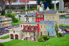 Legoland Florida Miniland USA. Historical house stock image