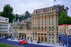 Legoland Florida Miniland USA. Hotel stock photos