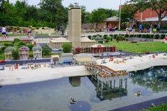 Legoland Florida Miniland USA Royalty Free Stock Photo