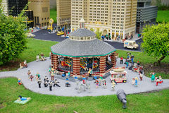Legoland Florida Miniland USA. New York city Royalty Free Stock Image