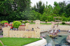 Legoland Florida Miniland USA royalty free stock images