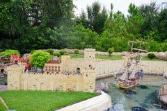 Legoland Florida Miniland USA Royalty Free Stock Images