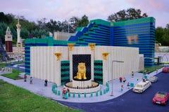 Legoland Florida Miniland USA. Resort Stock Photo