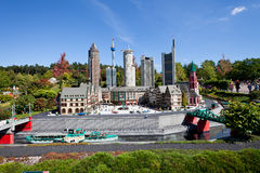 Legoland. Frankfurt - f.m. - strömförsörjning – Romer Royaltyfri Fotografi