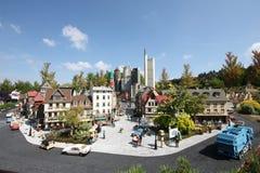 Legoland. GUNZBURG, GERMANY - AUGUST 22: Miniland at Legoland Deutschland Resort on August 21, 2013 in Gunzburg Stock Images