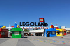 Legoland Kalifornien Lizenzfreies Stockbild