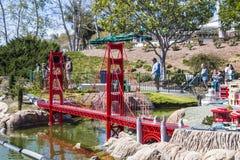 Legoland Kalifornien - Carlsbad, San Diego County, Kalifornien Royaltyfri Bild