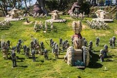Legoland Kalifornien - Carlsbad, San Diego County, Kalifornien Royaltyfri Foto