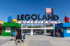 Legoland Kalifornien - Carlsbad, San Diego County, Kalifornien Fotografering för Bildbyråer