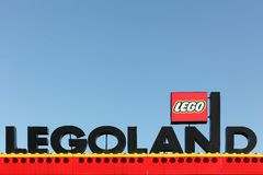 Legoland kurort w Billund, Dani Obraz Royalty Free