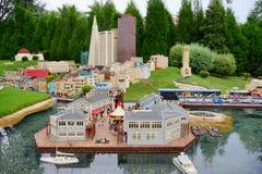 Legoland la Floride Miniland Etats-Unis image stock