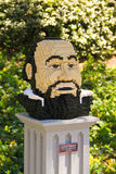 Legoland  Luciano Pavarotti Stock Image