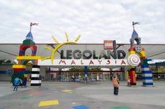 Legoland Malaysia främre port Royaltyfria Foton