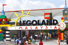 Legoland Malaysia Theme Park Royalty Free Stock Photography