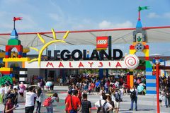 Legoland Maleisië Stock Afbeeldingen