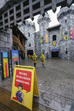Legoland Malezja park tematyczny 21 batalistycznych duży redakcyjnych rozrywki festiwalu wizerunku rycerzy średniowieczna narodu  obraz stock