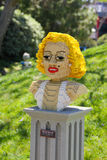 Legoland Marilyn Monroe Fotografia Stock Libera da Diritti