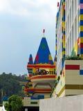Legoland nöjesfält, Johor, Malaysia Arkivfoton