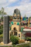 Legoland Ulm, Tyskland, år 2009 Arkivfoto