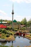 Legoland Ulm, Tyskland, år 2009 Royaltyfri Fotografi