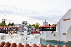 Legoland w Billund, czerwiec 29,2015 Obrazy Royalty Free
