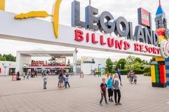 Legoland w Billund, czerwiec 29,2015 Obraz Stock