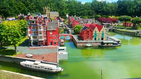 Legoland Windsor - i Paesi Bassi Fotografia Stock Libera da Diritti