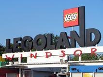 Legoland Windsor main gate Stock Photo