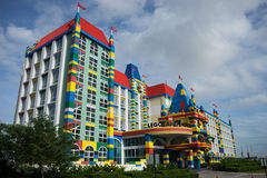 Legolandhotel Maleisië Stock Foto