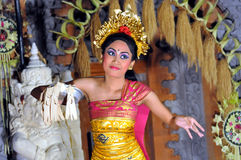 Legong dancer bali Royalty Free Stock Images