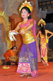Legong Tänzer Bali Stockbild