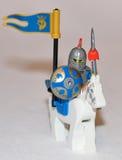 Legoridder Stock Fotografie