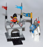 Legoridder Stock Afbeeldingen