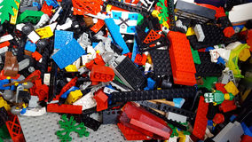 Legos Fotografia Stock Libera da Diritti